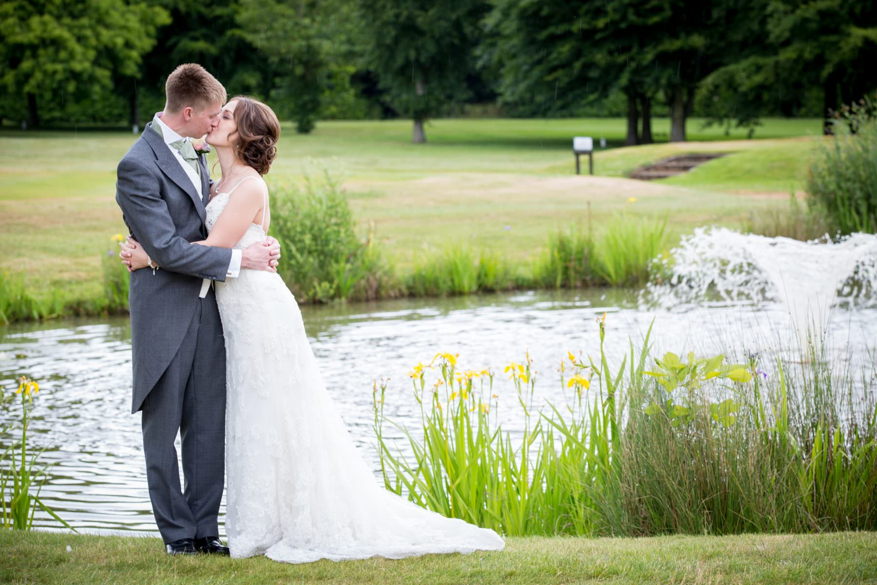Becky and Ali's wedding at Badgemore Park Golf Club