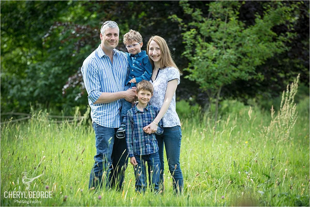 Alice & Rob's family shoot