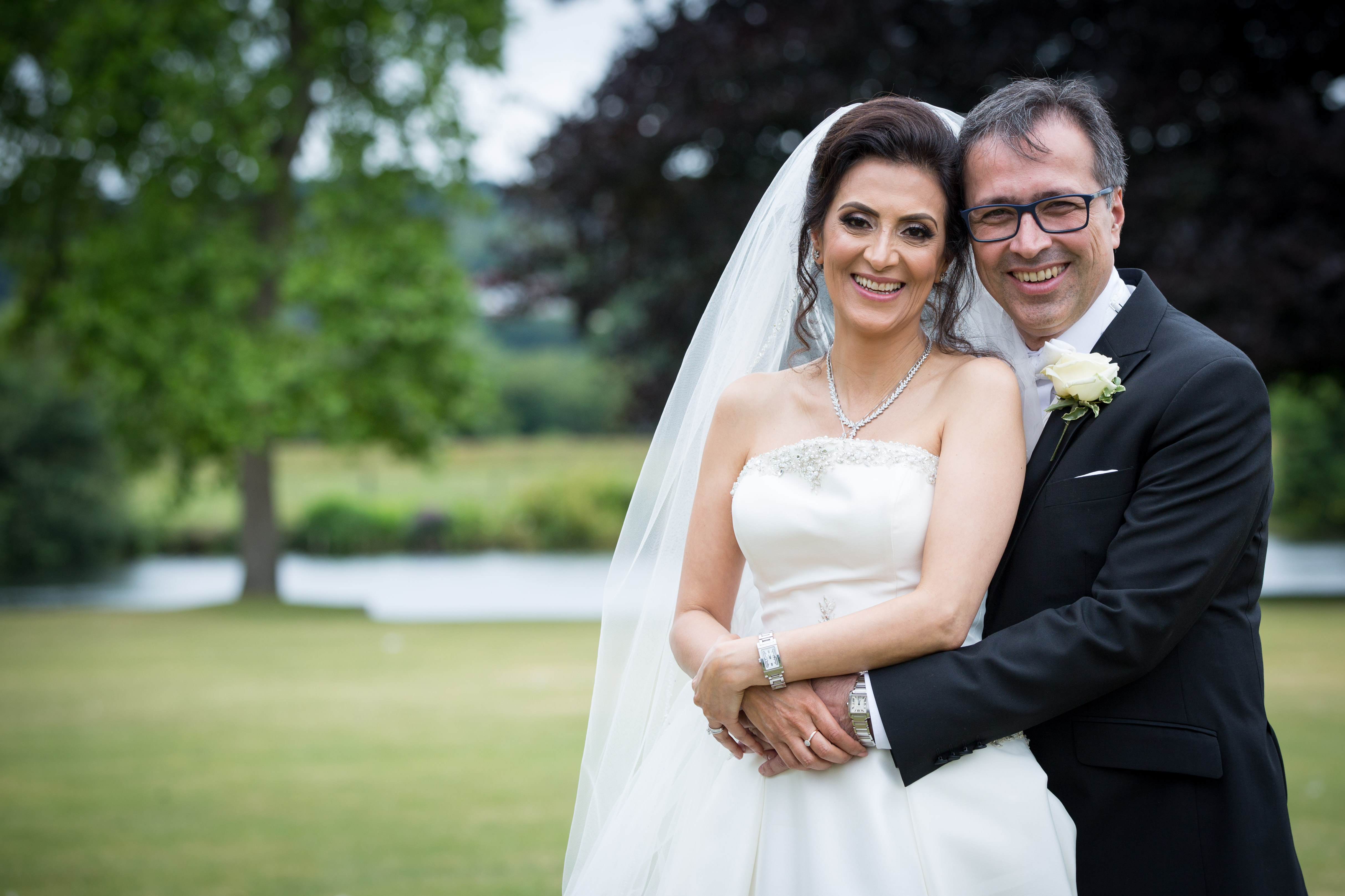 Mitra & Mehrdad's wedding at Bisham Abbey